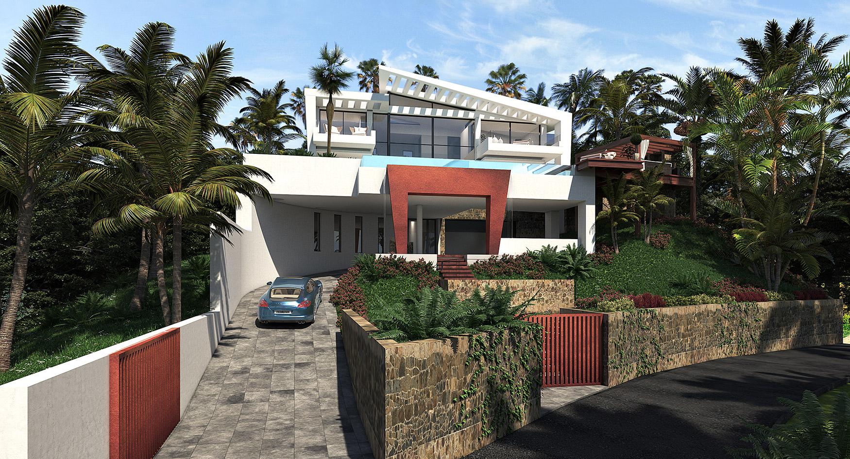 Villa lujo passivhaus marbella