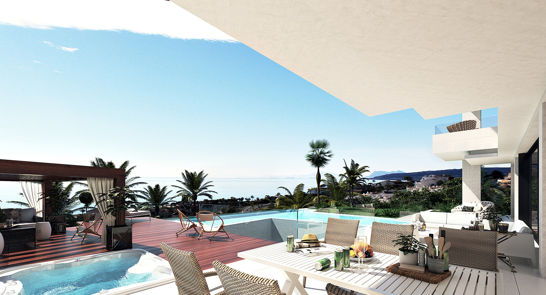 villa de lujo passivhaus en la costa del sol