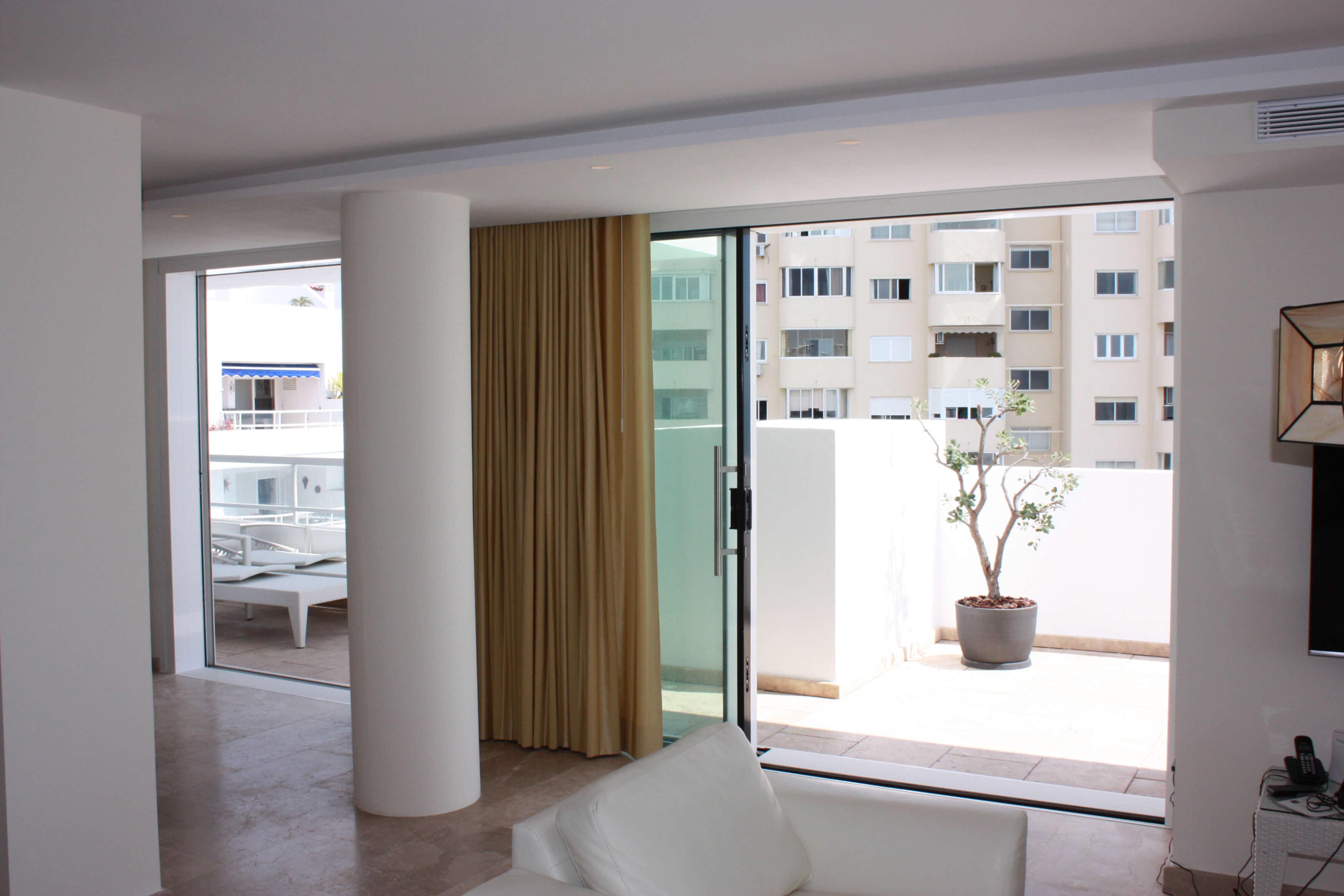 Vista desde el salón 2, Ático -Estepona, Costa del Sol