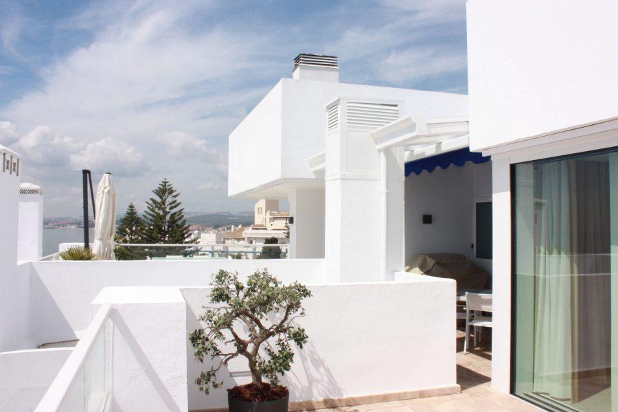 Vista terraza 5,Ático -Estepona, Costa del Sol
