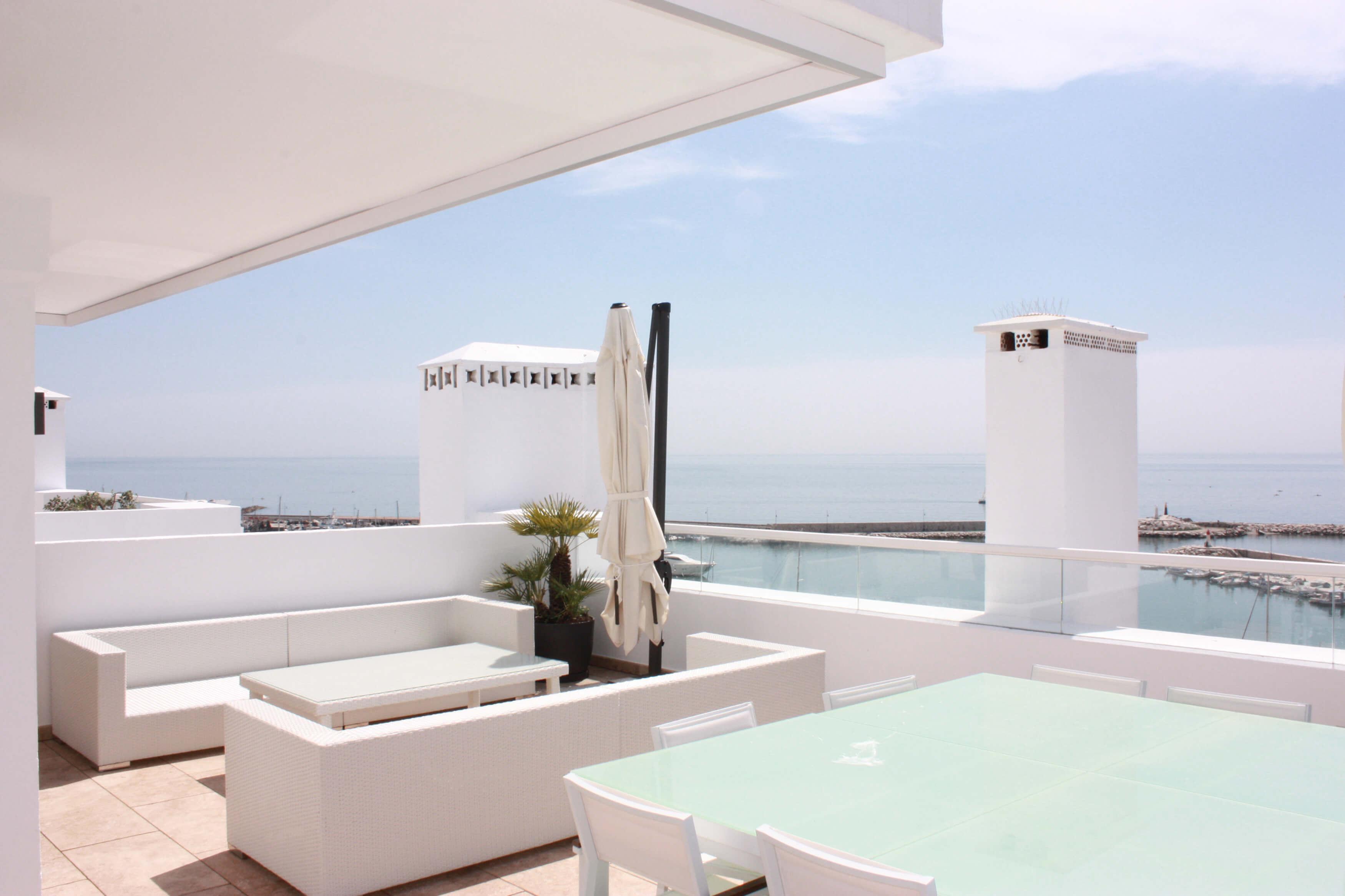 Vista terraza 4,Ático -Estepona, Costa del Sol