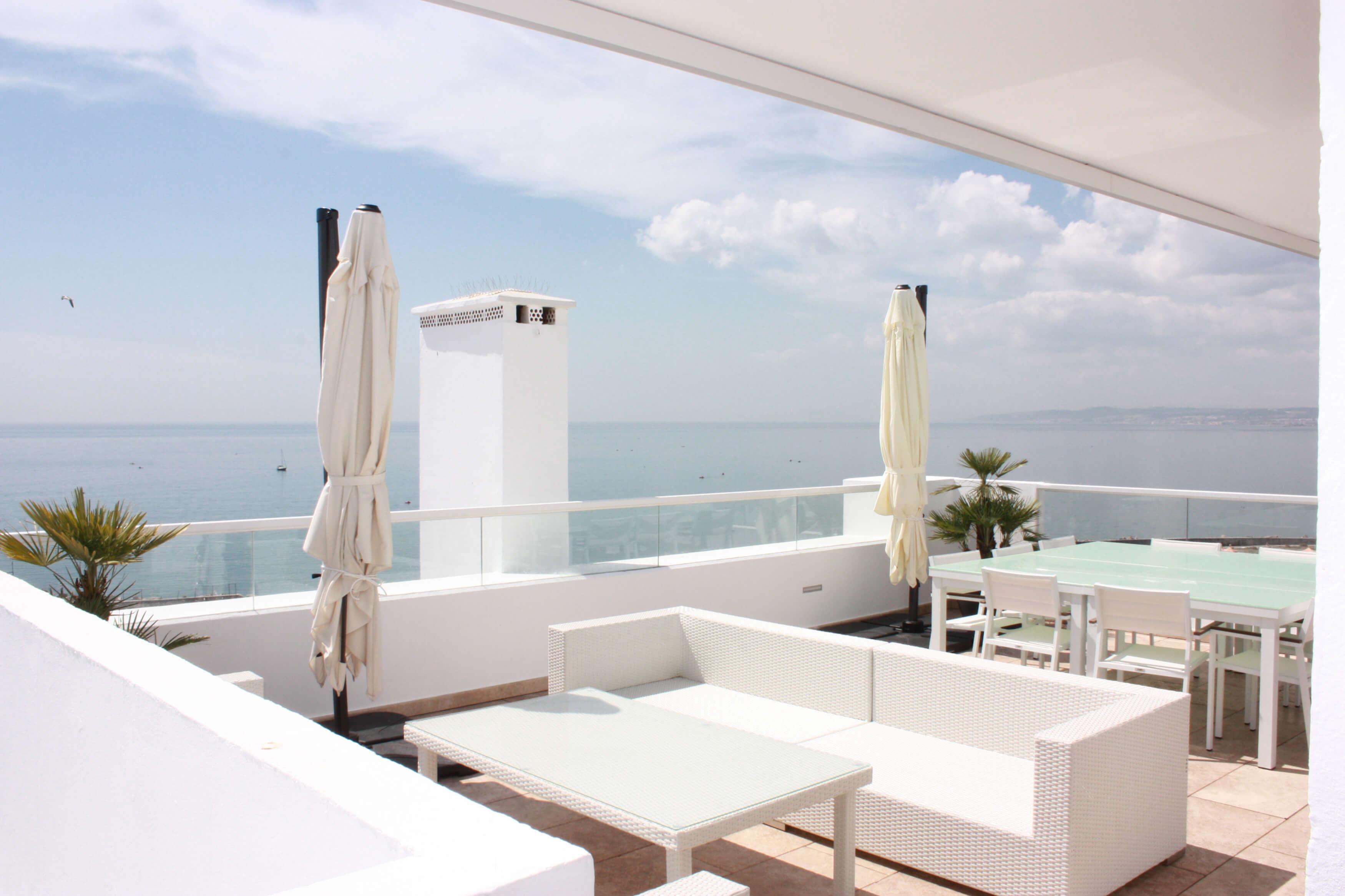 Vista terraza 3, Ático -Estepona, Costa del Sol