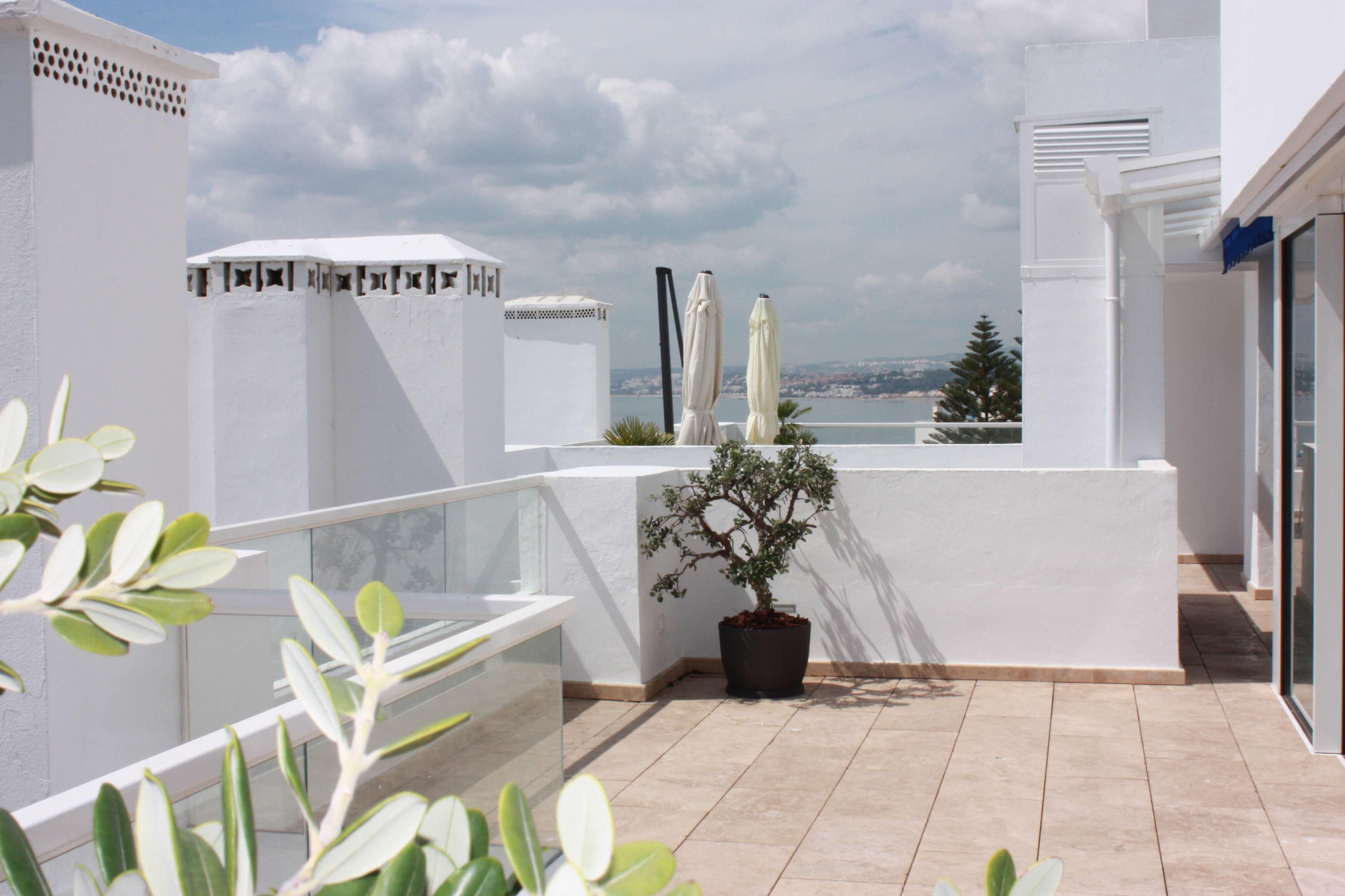 Vista terraza 2,Ático -Estepona, Costa del Sol