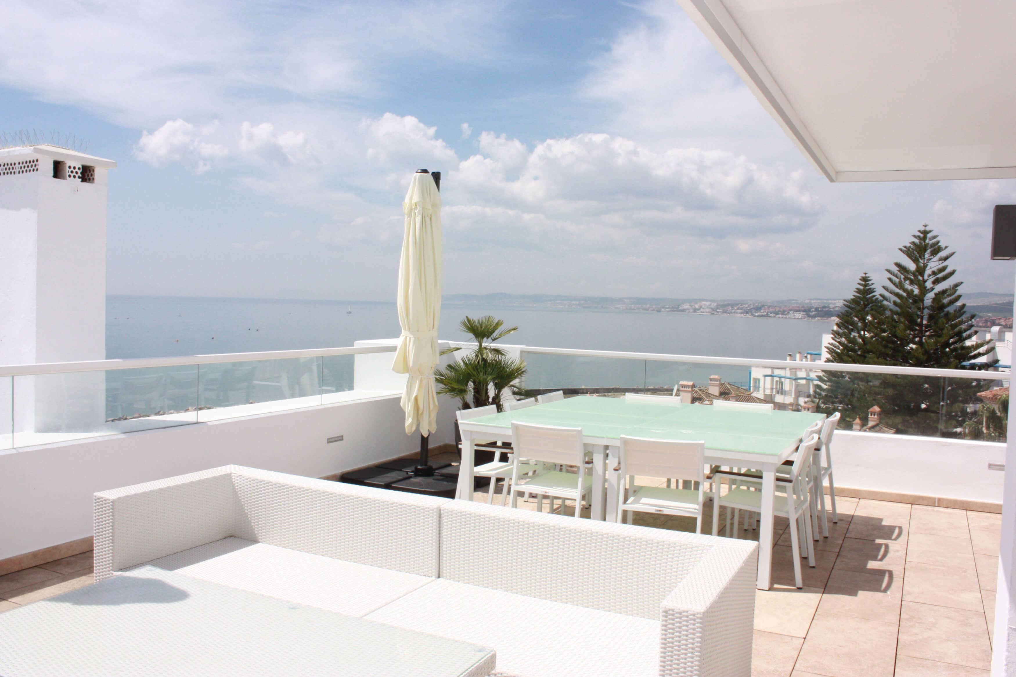 Vista terraza 1, Ático -Estepona, Costa del Sol