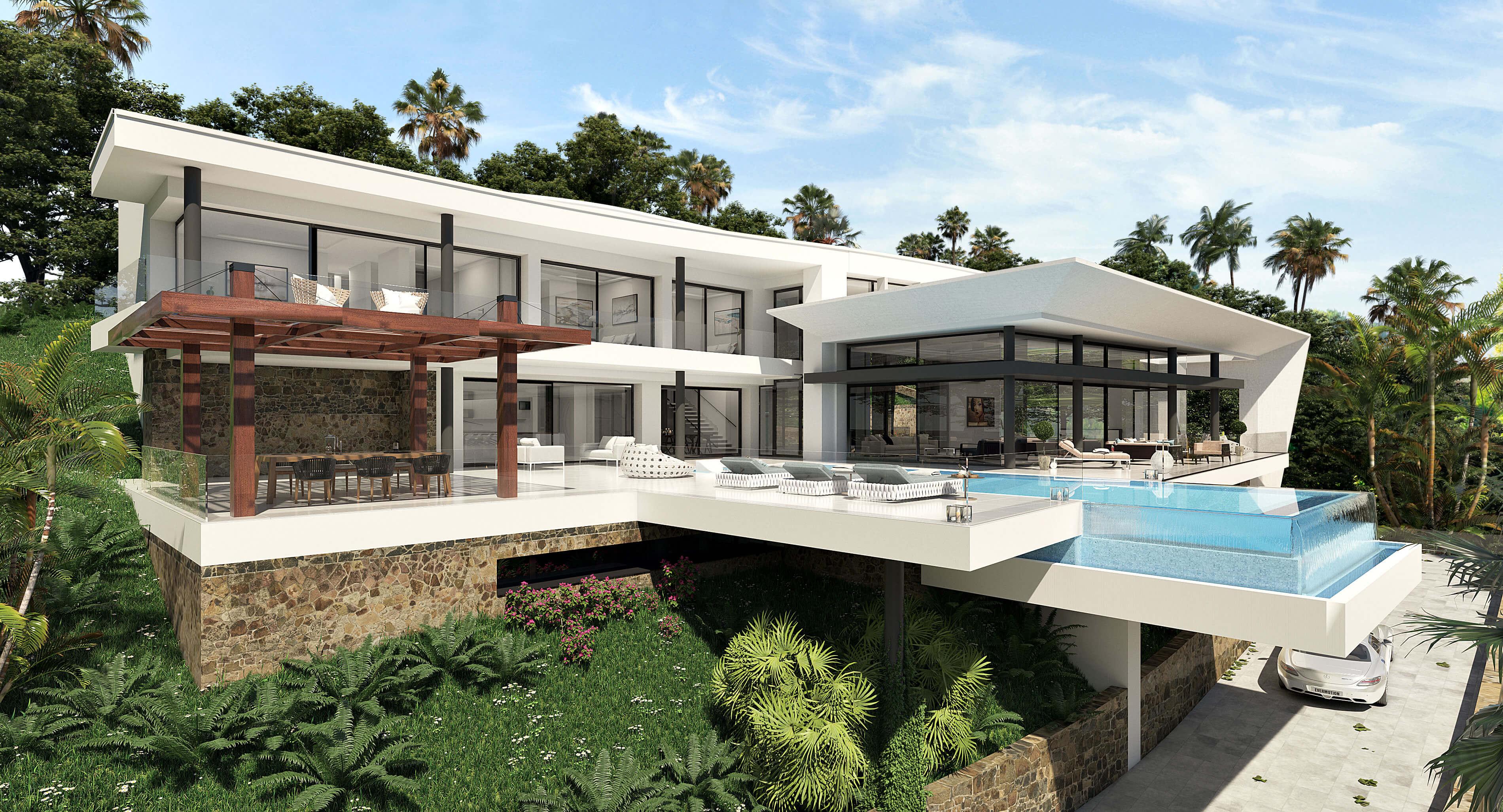 villa Passivhaus premium en benahavis costa del sol