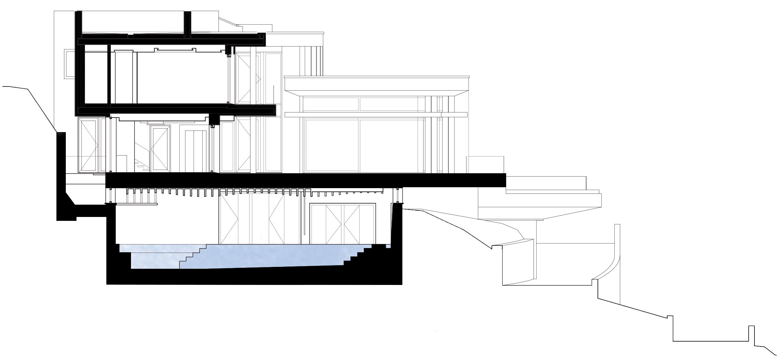 seccion vivienda passive house marbella