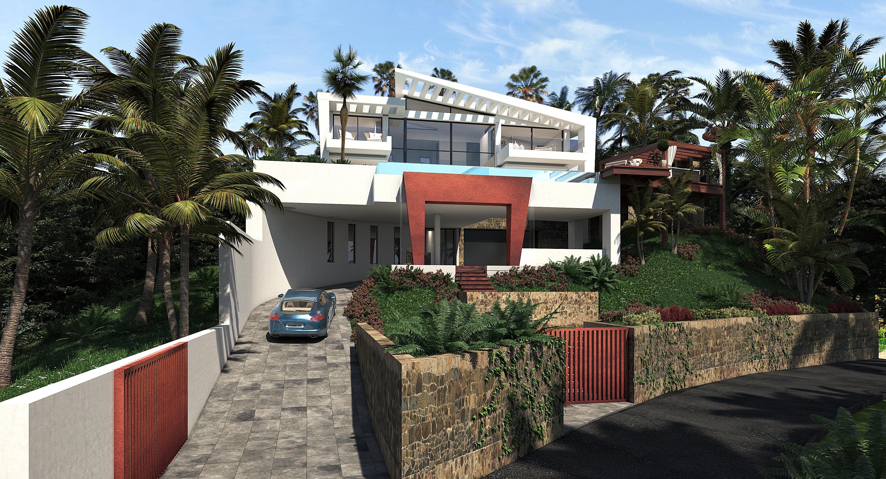 villa de lujo passivhaus bahia de casares