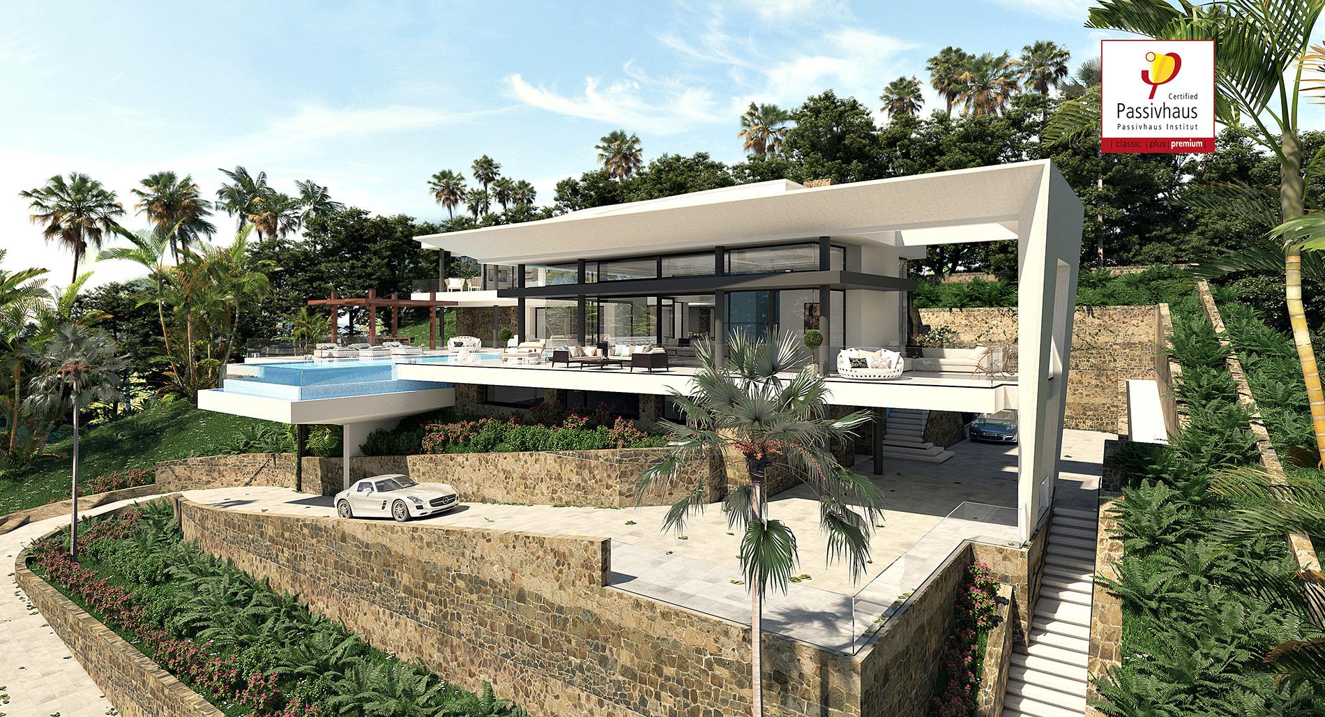 vivienda Passivhaus en la Costa del sol