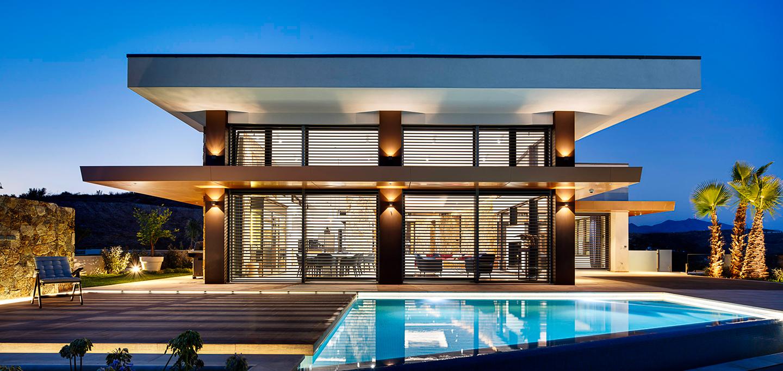 villa passivhaus wave house en mijas
