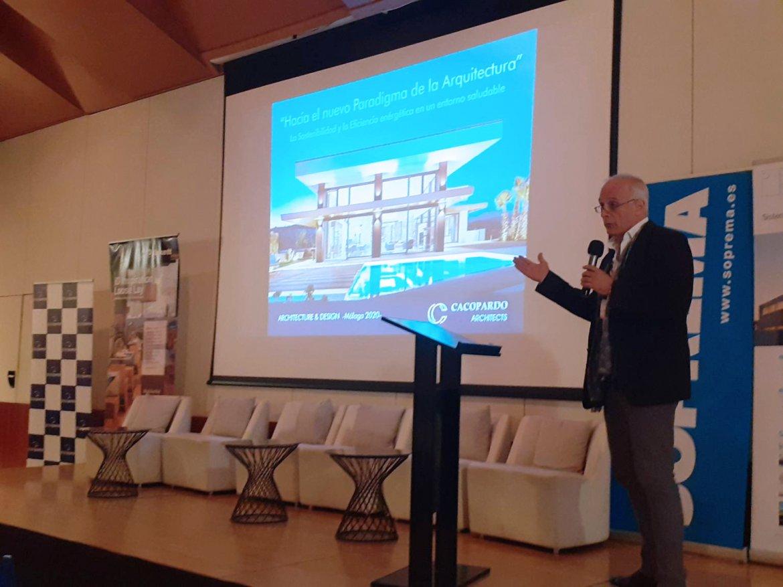 Ponencia Sostenibilidad y eficiencia energetica en la arquitectura